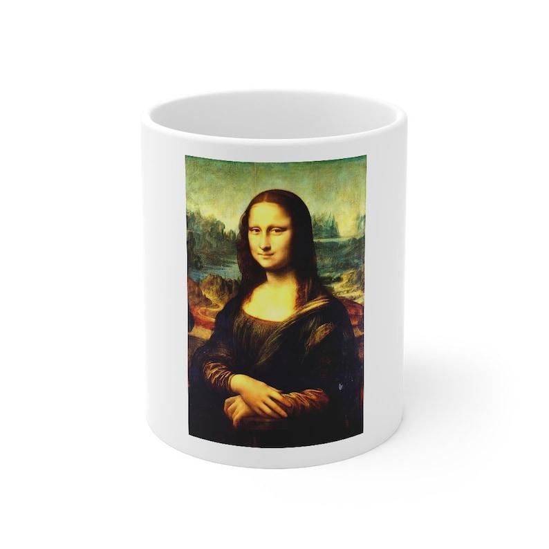 Mona Lisa DaVinci Coffee Mug image 1