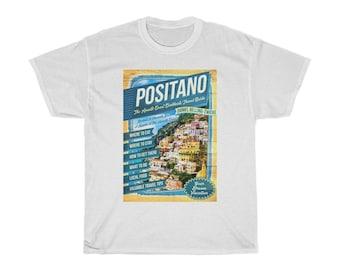 Positano Amalfi Coast Capri T-Shirt by Bellino