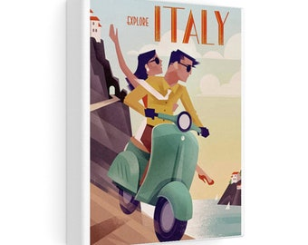 Italy - On a Scooter Vacation