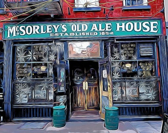 McSORLEY'S OLD ALE HOUSE - New York