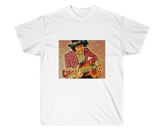 Jimi Hendrix Psychedelic  Tee Shirt