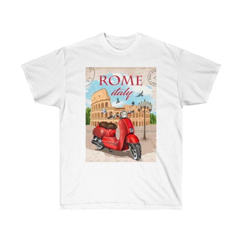 Rome Italy Italian Scooter image 0