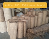 WIDTH 18 quot , Hexagon Natural Rattan Cane, Caning chair, Cane Webbing, buy more SAVE MORE.