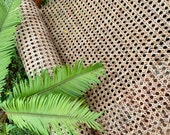 36 quot Wide, NATURAL Hexagon Weave Rattan Cane Webbing, Sell By The Foot.