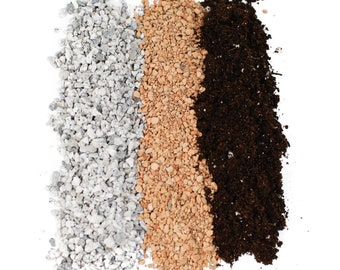 Molly's Succulent Mix - Premium Gritty Soil Mix - FREE SHIPPING - Fast draining substrate ideal for Succulents, Hoyas, Caudex Plants & Cacti