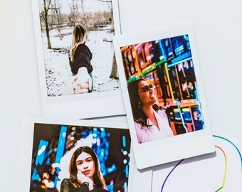 Your Images On Polaroid Prints