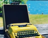 1950 Smith Corona Sterling Manual Portable Typewriter