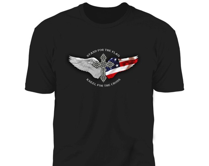 Stand For The Flag Christian Premium T-shirt