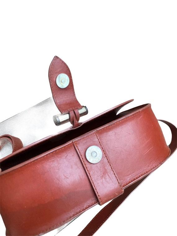 A.P.C. - Brown Leather Handbag - Half Moon  -  AP… - image 7