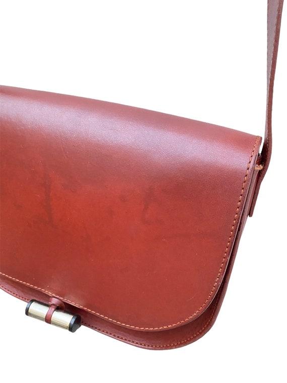 A.P.C. - Brown Leather Handbag - Half Moon  -  AP… - image 2