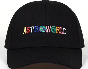 Travis Scott Astroworld Baseball Cap, Travis Scott Merch, Spring Summer Cotton Hat