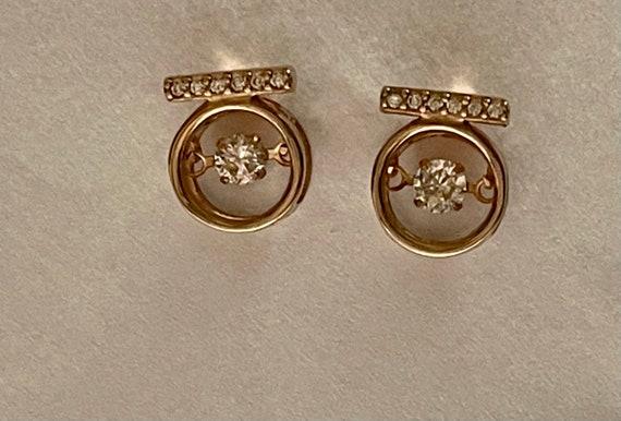 Diamond Earrings   Tiny diamond Stud Earrings   V… - image 9