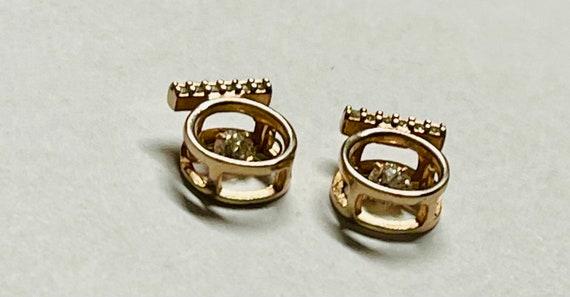 Diamond Earrings   Tiny diamond Stud Earrings   V… - image 7