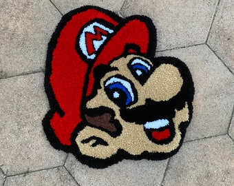 "Custom Tufted Rug ""Mario Rug"""