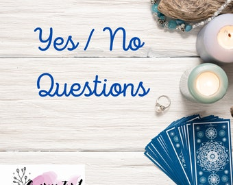 SAME DAY Yes or No Tarot Reading Psychic Love/General/Career One Question