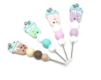 Silicone Bubble Tea Beaded Cookie Scribes Boba Decorating Tool