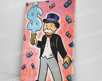 Original Canvas Art, Graffiti Wall Art, Man Cave Decor, Pop Art Sculpture, Board Game Wall Decor, Abstract Canvas, Wall Arts,Teen Room Decor