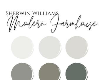 Color Palette: Modern Farmhouse