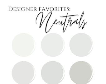 Color Palette: A Designers Favorite Neutrals