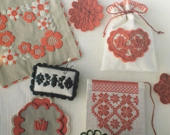 Transylvania Folk Art Cute Embroidery - Japanese Craft Book (Chinese)