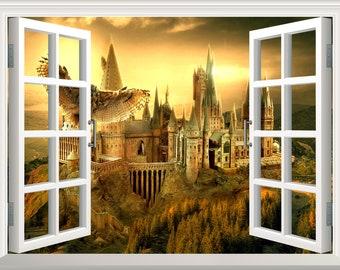 Harry Potter Mural Etsy