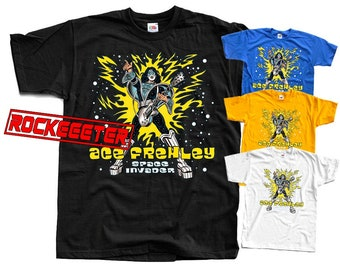 Ace Frehley Space Invader band 2014 T-Shirt sizes S-5XL 4 colors available