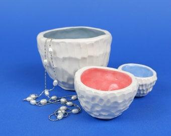 set pastel bowls