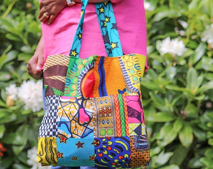 Patchwork African Fabric Bag