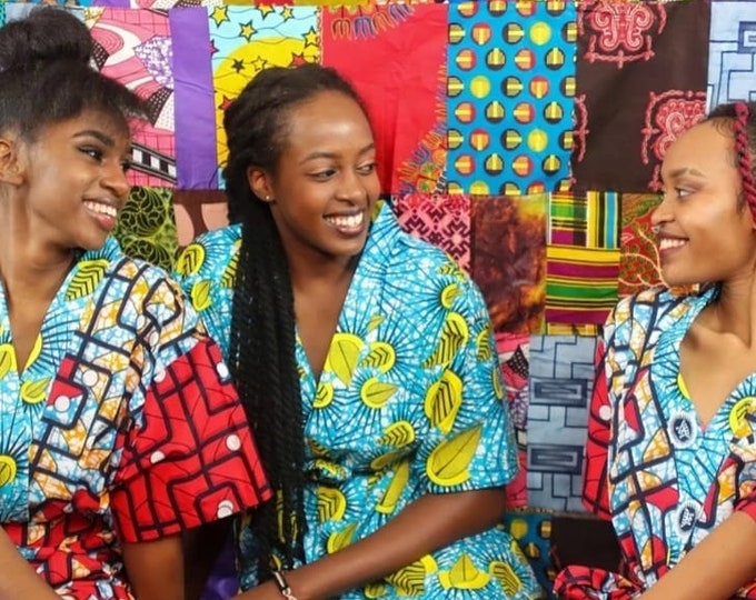 African Kimono Jackets/ African Print Robes