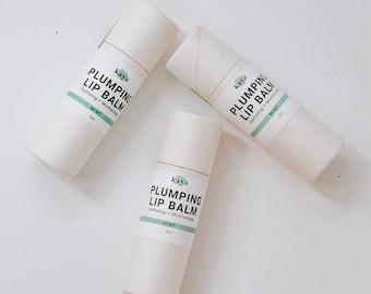 Plumping Lip Balm | Volumizing, Hydrating, Moisturizing, Zero Waste