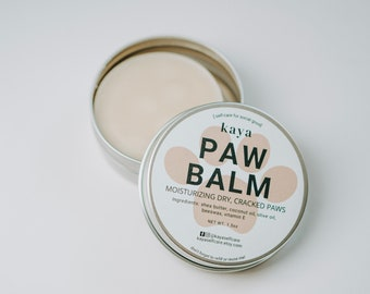 Paw Balm | 100% Natural Balm for Dogs, Travel size, Moisturizing Dry Cracked Paws, Refillable, Eco-friendly