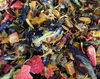 By The Sea Mermaid Tea -- Loose Leaf Herbal Tea -- Bookish Tea -- Beach Lover Gift -- Color Changing Tea