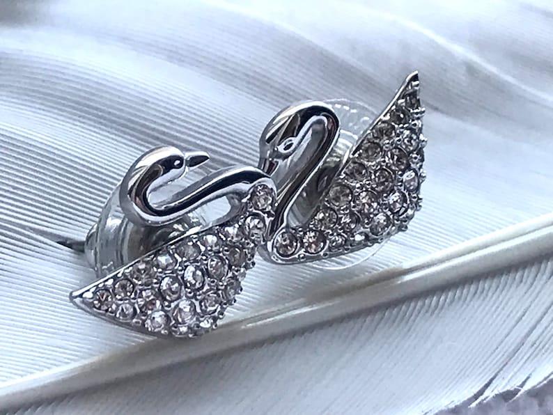 Beautiful pair of Swarovski 925 Sterling Silver Earrings image 0