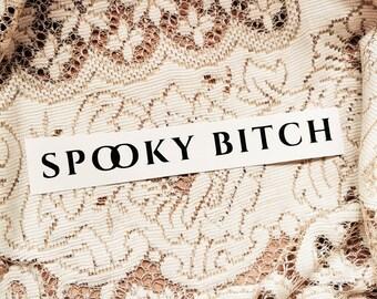 Spooky Bitch Trinket Tray