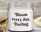 Floral Two Tone Ceramic Coffee Mug —Bloom Everyday, New Born Baby Gift — Housewarming Gift —for New Mom, New Dad, New Bride, New School, ...