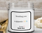 Birthday Gift for Sister, Brother, Daughter in law, Mom—Sympathy Gift —Personalized Gift —Vanilla Scented