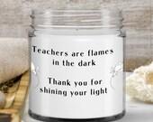 Funny Teacher Candle — World's Best Teacher Sayings —Birthday Gifts,School start Gift, Anniversary gift, Retirement gift idea