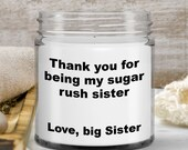 Candles that Say Funny Things — Gift for Women, Sisters, Mom —Personalizable