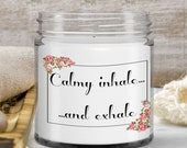 Handmade Candle Gift For Mom, Teachers, Best Friend, Dad, Fathers day, Mothers Day, Christmas Gift—Vanilla Scented —9oz