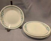 Corelle- quot Rosemarie quot -Set of 6 Bread Butter Plates by Corelle Corning Vision