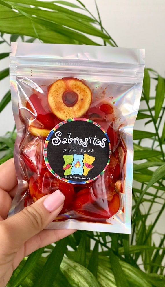 Chamoy candy - Peach Rings