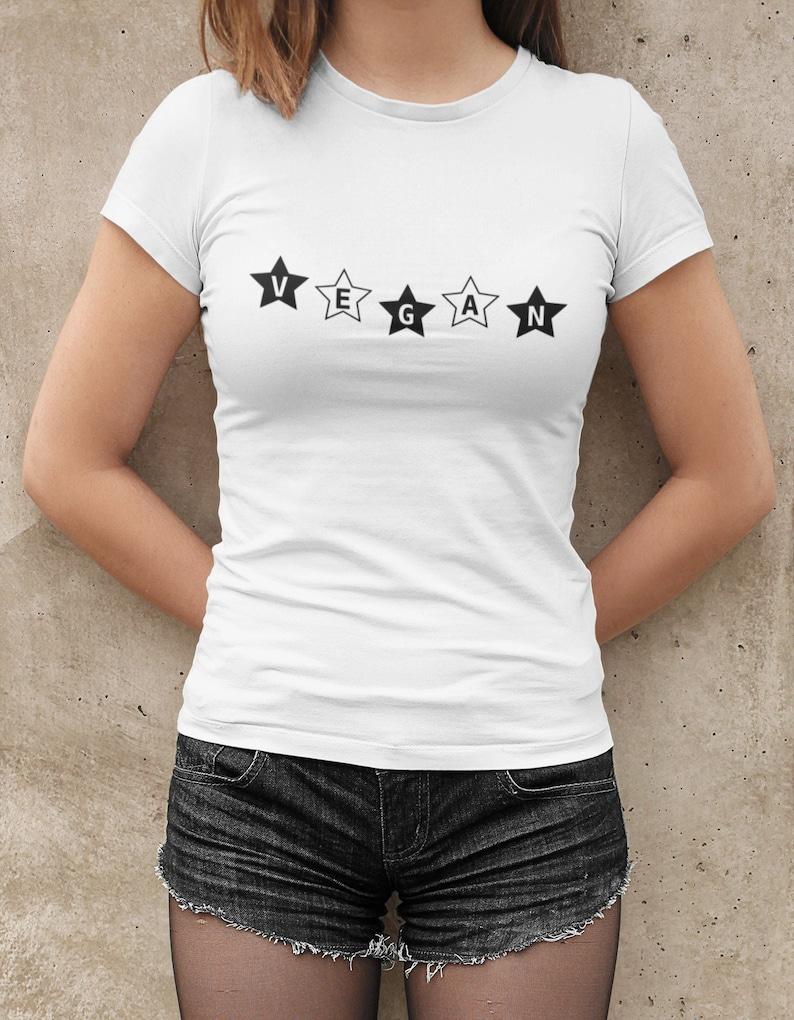 5-Star Vegan  vegan shirt vegan t shirt vegan tshirt vegan image 0