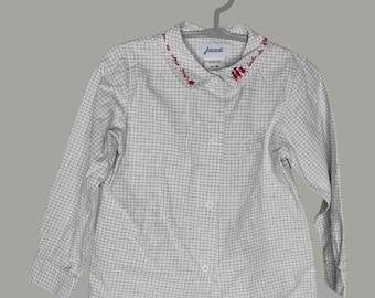 4-year-old vintage Jacadi shirt