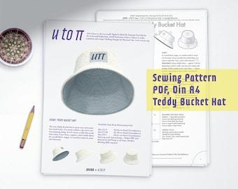 Teddy Bucket Hat — DIY Sewing Pattern PDF