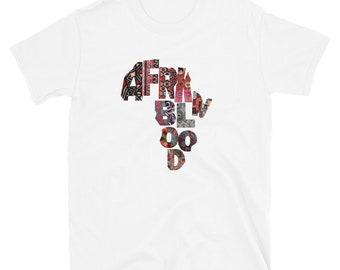 Afrkn Blood T-shirt afrkn patterns