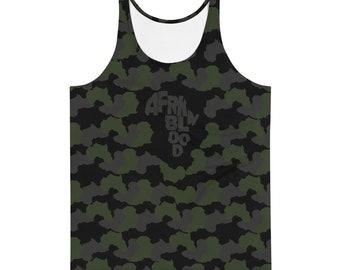 Tank Top Afrkn Soldier