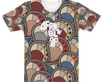 Men's T-shirt Afrkn Peacock Full