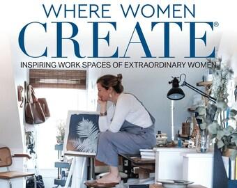 Where Women Create- Annual Subscription