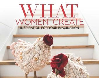 What Women Create- Annual Magazine Subscription