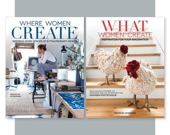 Women Create Combo- Annual Magazine Subscription